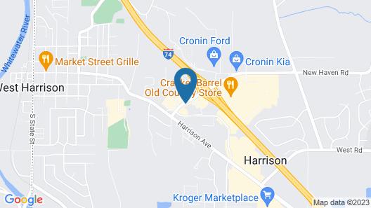 Super 8 by Wyndham Harrison OH Map