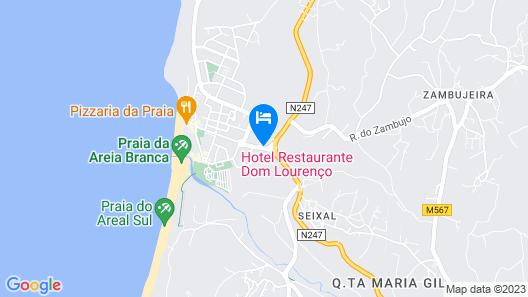 Hotel Dom Lourenço Map