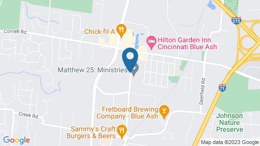 Extended Stay America - Cincinnati – Blue Ash – Kenwood Road Map