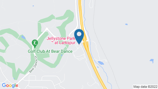 Jellystone Park™ at Larkspur Map