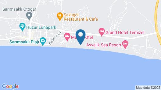 Yasmin Hotel Map
