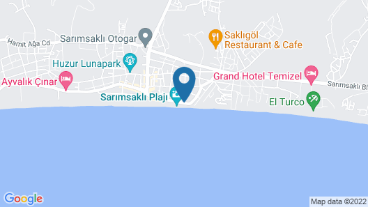 Ege Soley Hotel Map