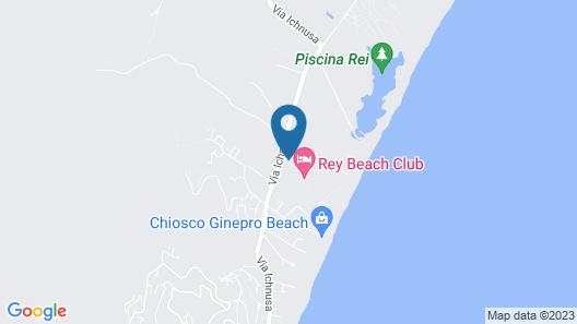 Rey Beach Club Map