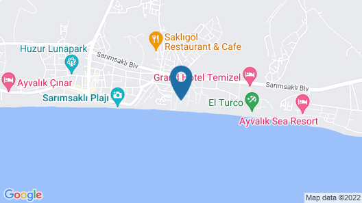 Hotel Palmera Resort Map