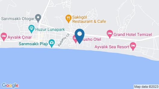 Nil Hotel Map