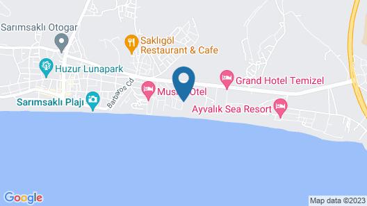 Mardia Beach Hotel Map