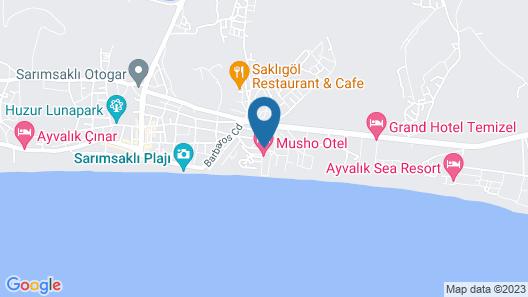 Musho Hotel Map