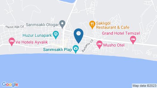 Kalif Hotel Map