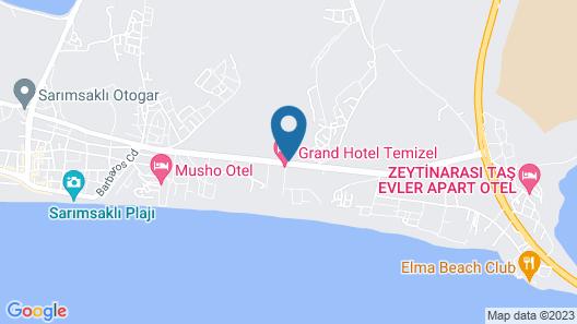Ayvalık Sea Resort Map