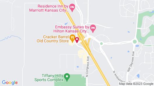 Drury Inn & Suites Kansas City Airport Map