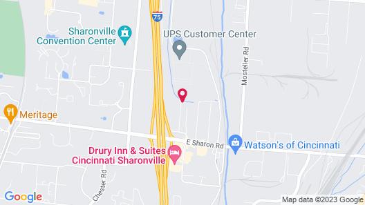 Hawthorn Suites by Wyndham Cincinnati/Sharonville Map