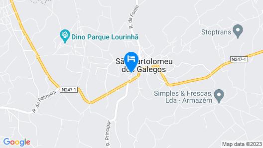Quinta do Molinu Map