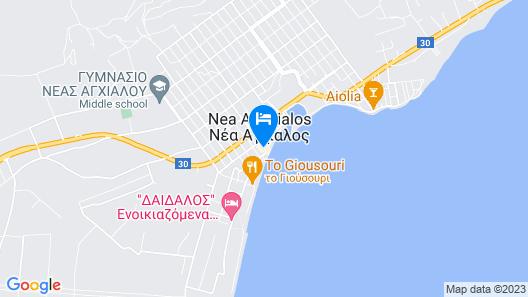 Laodamia Hotel Map