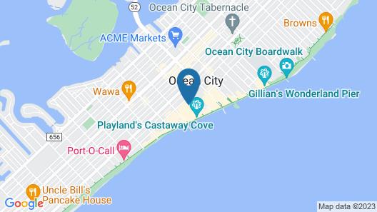 Impala Island Inn Map