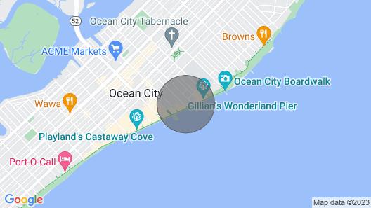 Boardwalk Ramp Base Condo Map