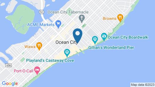 Homestead Beach Hotel Map