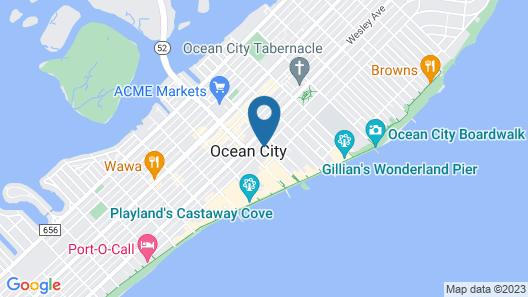 Biscayne Suites Map