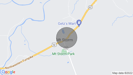 Mountaineer Motel - Standard Room Map