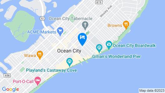 Plymouth Inn Map