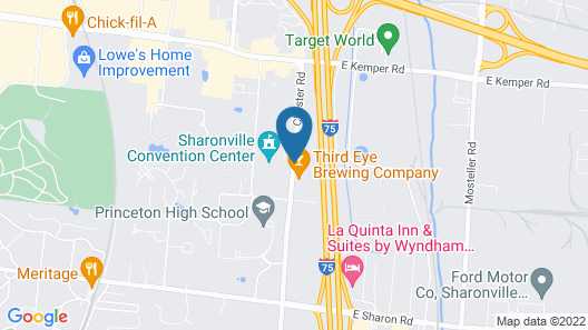 Hyatt Place Cincinnati / Sharonville Convention Center Map