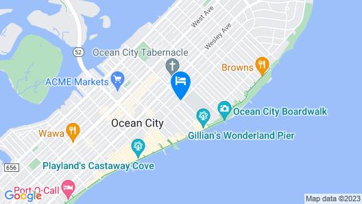Atlantis Inn Hotel Map