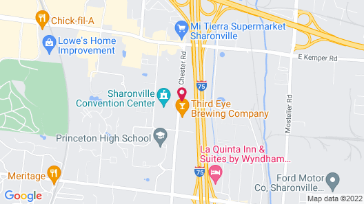 Delta Hotels by Marriott Cincinnati Sharonville Map