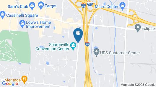 LivINN Hotel Cincinnati / Sharonville Convention Center Map
