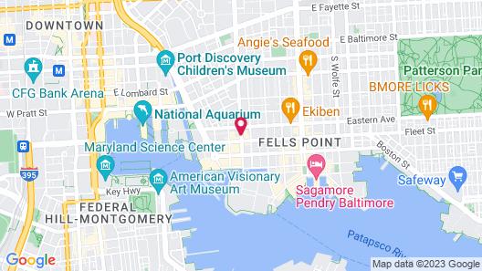 Hyatt Place Baltimore Inner Harbor Map
