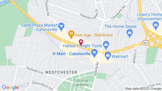 Ramada by Wyndham Baltimore West Map