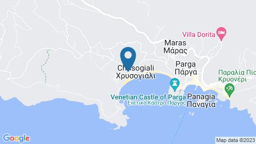 Parga Beach Resort Map