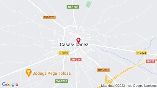 Hospedium Hotel Boutique Cañitas SPA Map