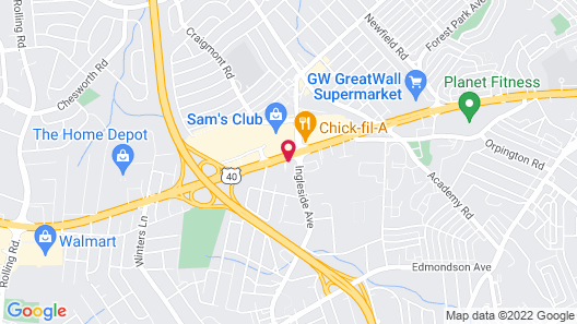 Holiday Inn Express & Suites Baltimore West - Catonsville, an IHG Hotel Map