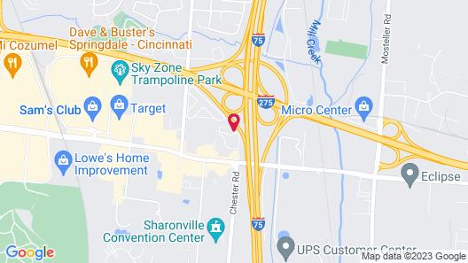 Sonesta ES Suites Cincinnati - Sharonville West Map