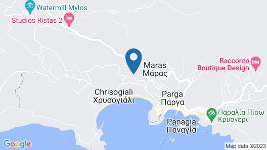 Hotel Parga Princess Map