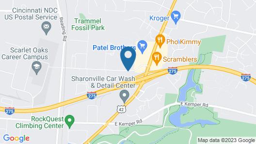 Clarion Hotel - Cincinnati North Map