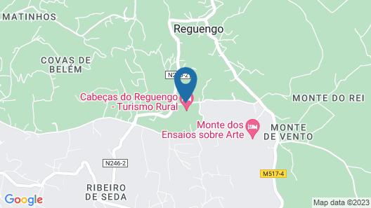 Cabeças do Reguengo Map