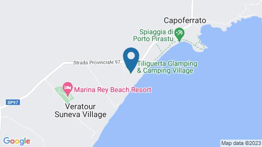 Tiliguerta Glamping & Camping Village  Map