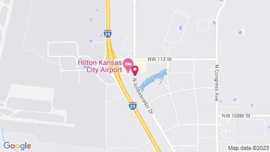 Best Western Plus Kansas City Airport-KCI East Map