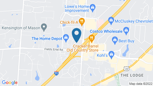 La Quinta Inn & Suites by Wyndham Cincinnati NE - Mason Map