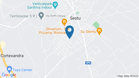 Apartment With one Bedroom in Sestu, With Enclosed Garden and Wifi Map