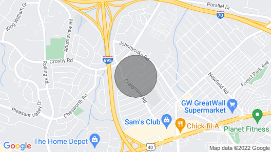 Baltimore-washington DC Metro Map