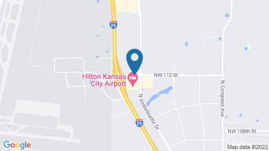 Hilton Kansas City Airport Map