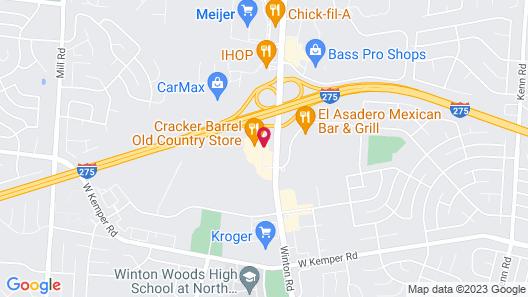 SpringHill Suites Cincinnati North/Forest Park Map