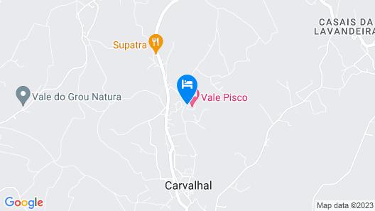 Vale Pisco - Villa de sonho Map