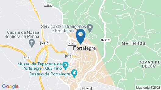 Casa Dom Manoel Map