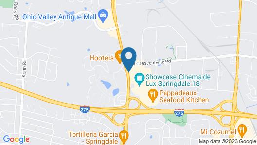 La Quinta Inn by Wyndham Cincinnati North Map