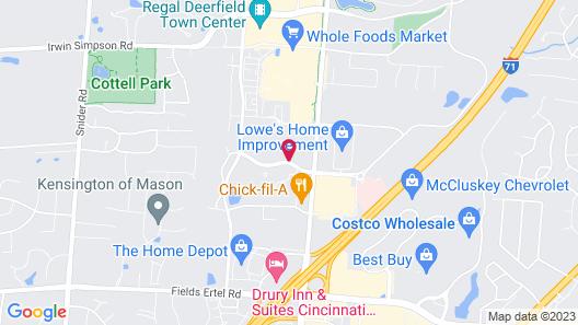 Holiday Inn Express & Suites Cincinnati - Mason, an IHG Hotel Map