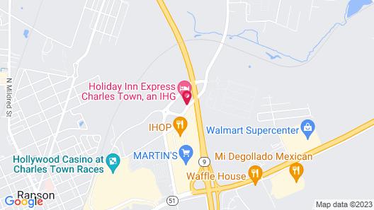 Holiday Inn Express Charles Town, an IHG Hotel Map