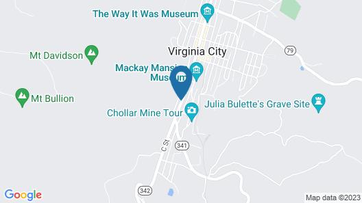 Sugarloaf Mountain Motel Map