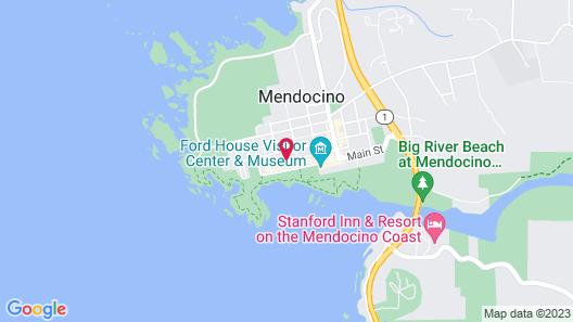 MacCallum House Inn Map